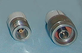 Picture of Female and Male Type N Connectors